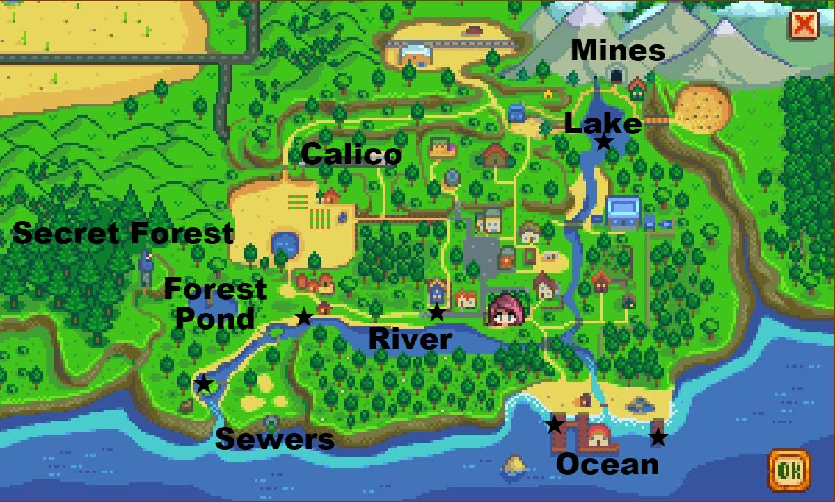 Steam community guide fishing guide for Fishing places near me