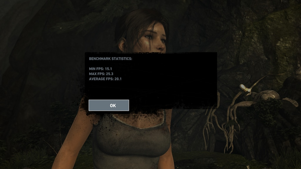 Steam Community :: Screenshot :: Benchmark results maxed out