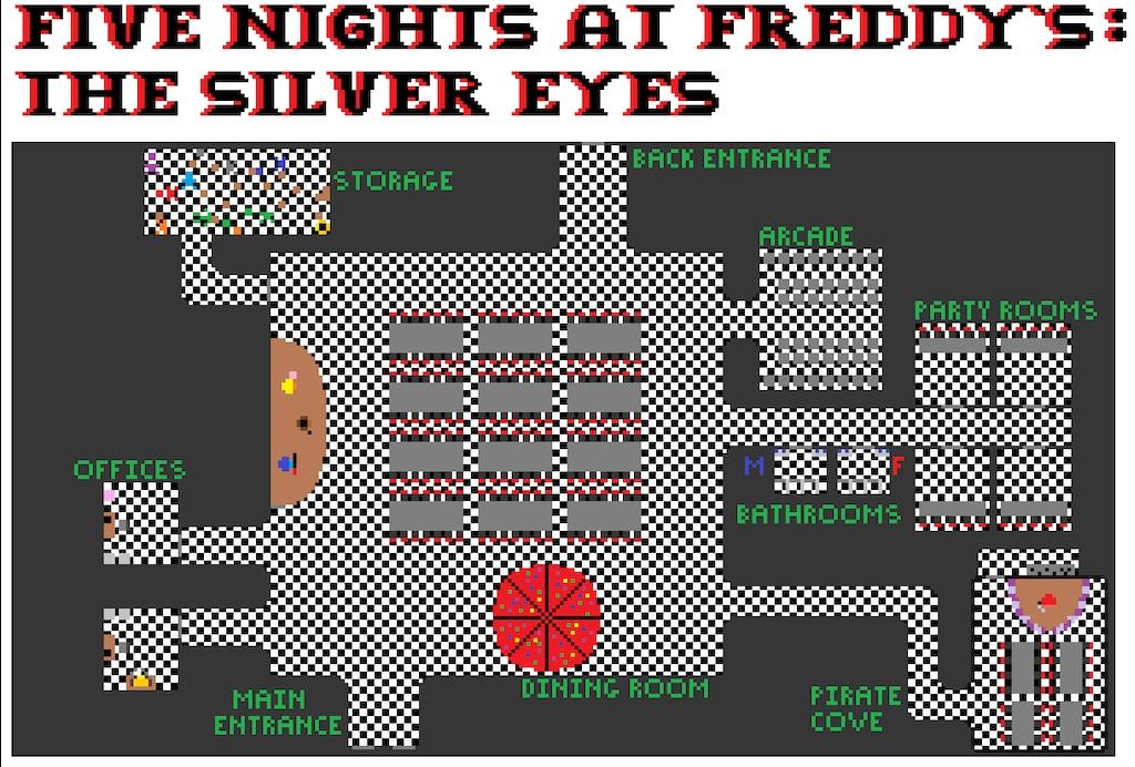 Steam Community :: :: FNaF The Silver Eyes FFP Map