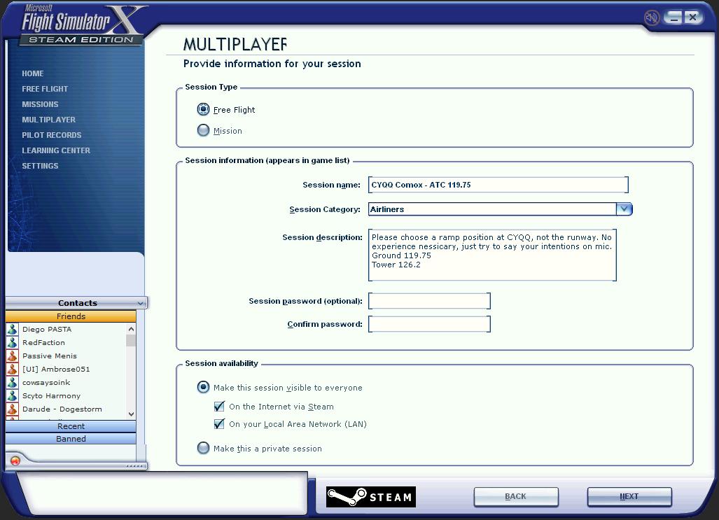 Steam Community :: Guide :: FSX:SE Multiplayer Server Setup