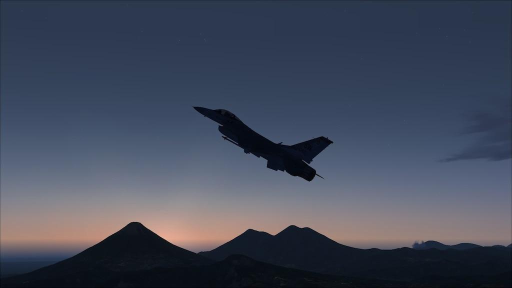Steam közösség :: Képernyőmentés :: F-16 climbing 33,000ft