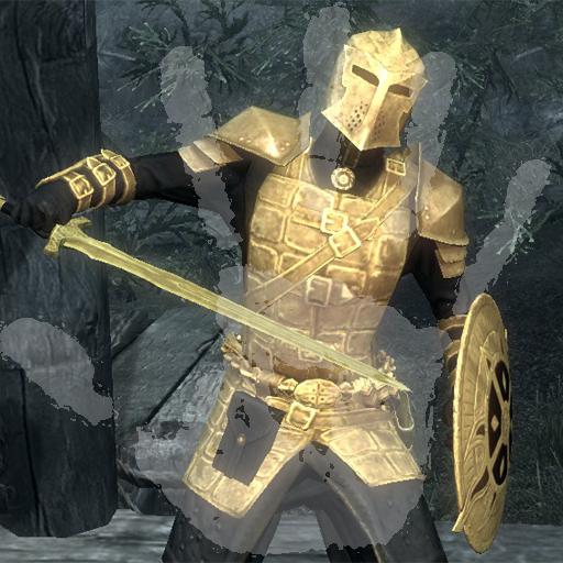 Steam Workshop :: Gold Dawnguard Weapons & Armor