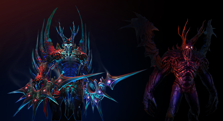 steam workshop burning soul terrorblade set