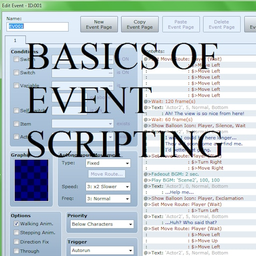 Steam Community :: Guide :: Basics of Event Editing
