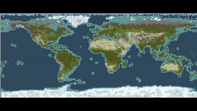 Steam workshop civ 5 maps scenarios super accurate giant earth map gumiabroncs Images
