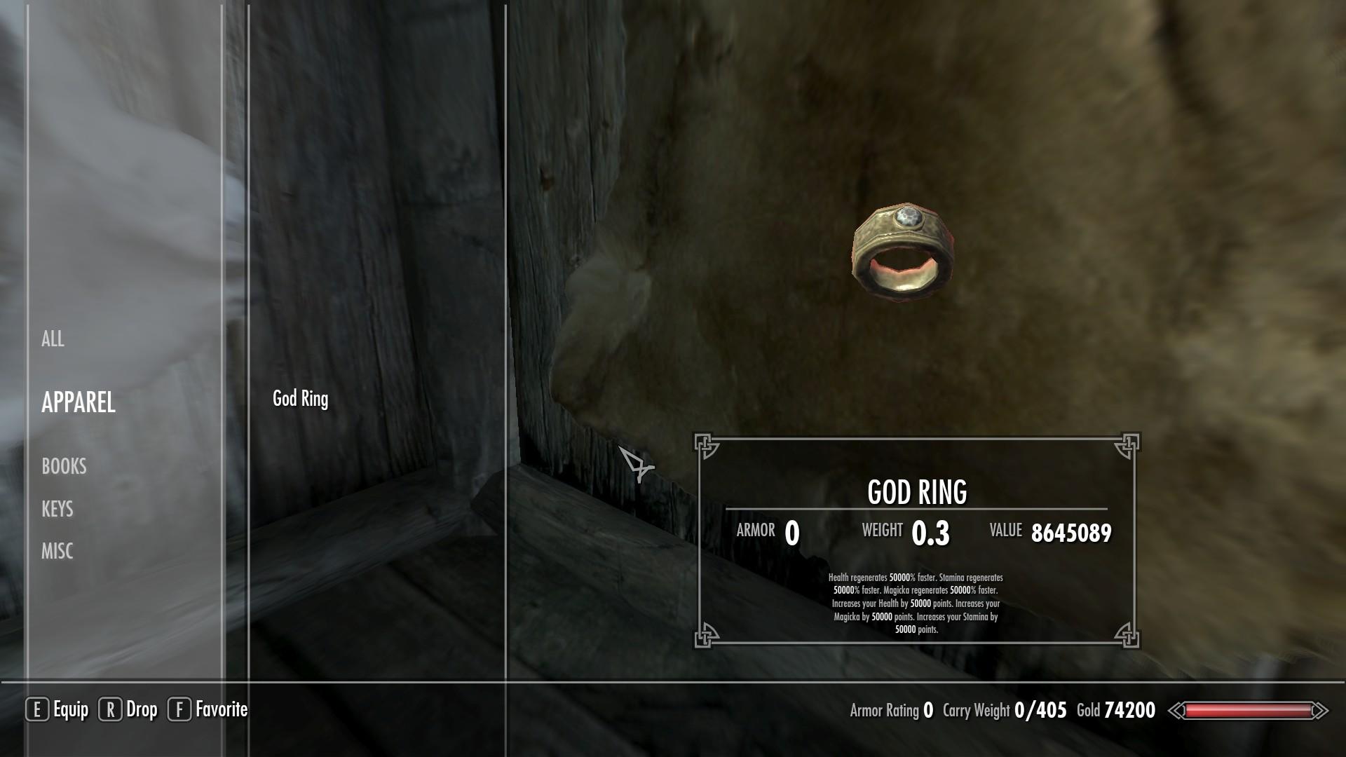 Steam Workshop God Ring