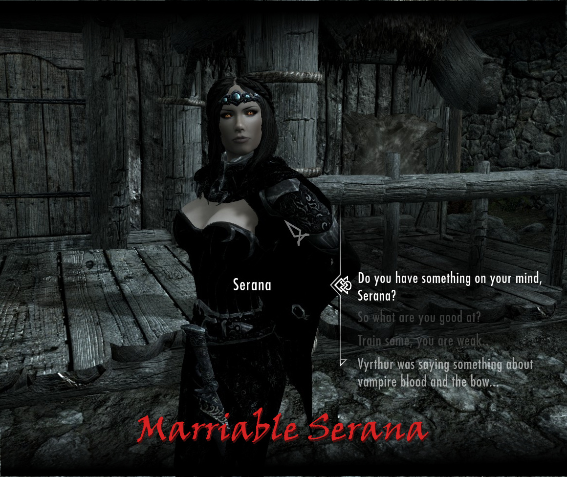 Steam Workshop :: Marriable Serana