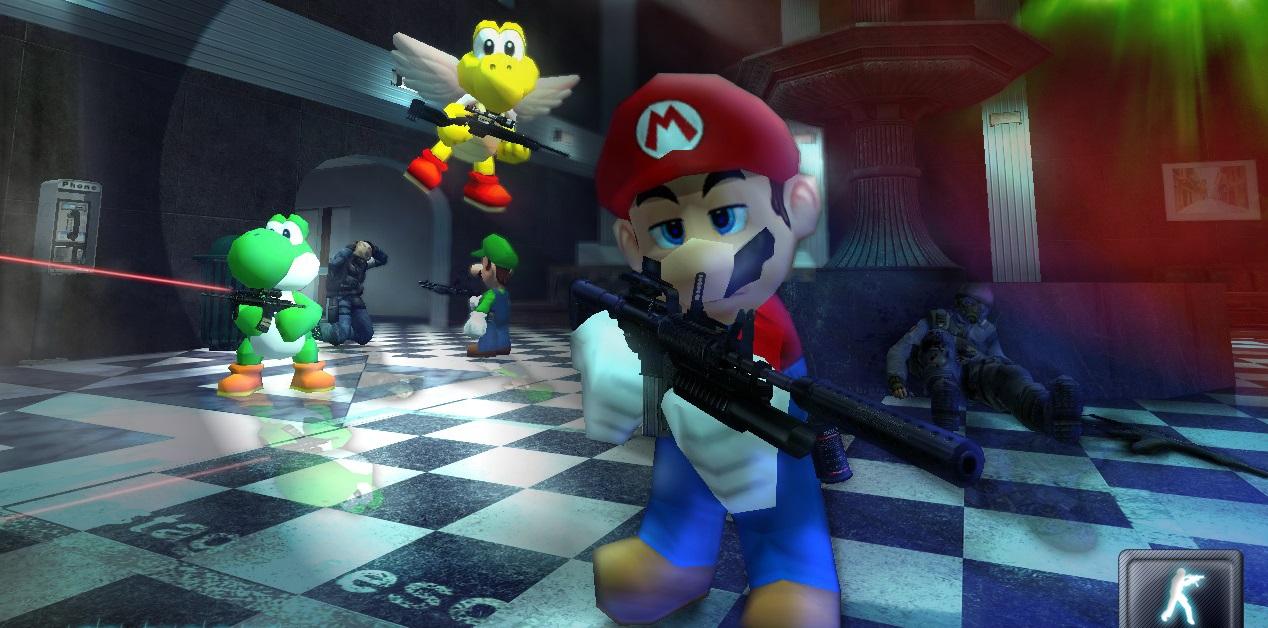 Steam Workshop Mario