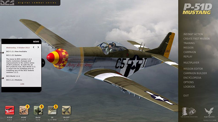 Steam community guide dcs world p51d startup guide this is the main menu for the dcs world p51d selected yes its an older picture but nothings really changed so it works gumiabroncs Image collections
