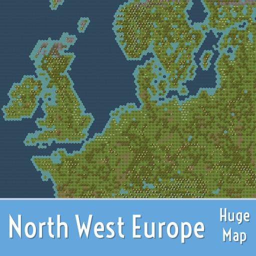 Steam Workshop North West Europe Huge Map