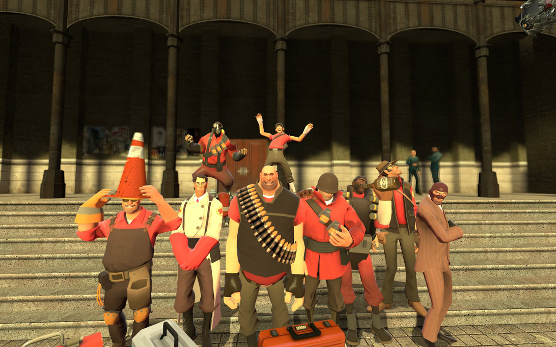 Team fortress 2 npcs.
