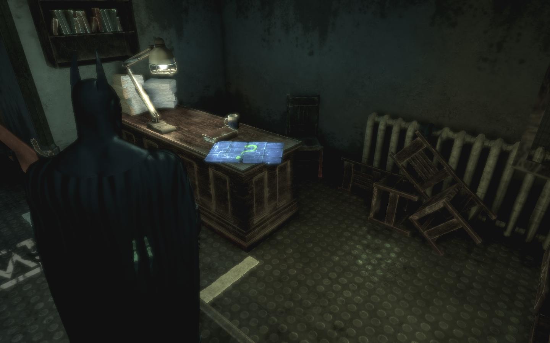Карты Риддлера в Batman: Arkham Asylum GOTY
