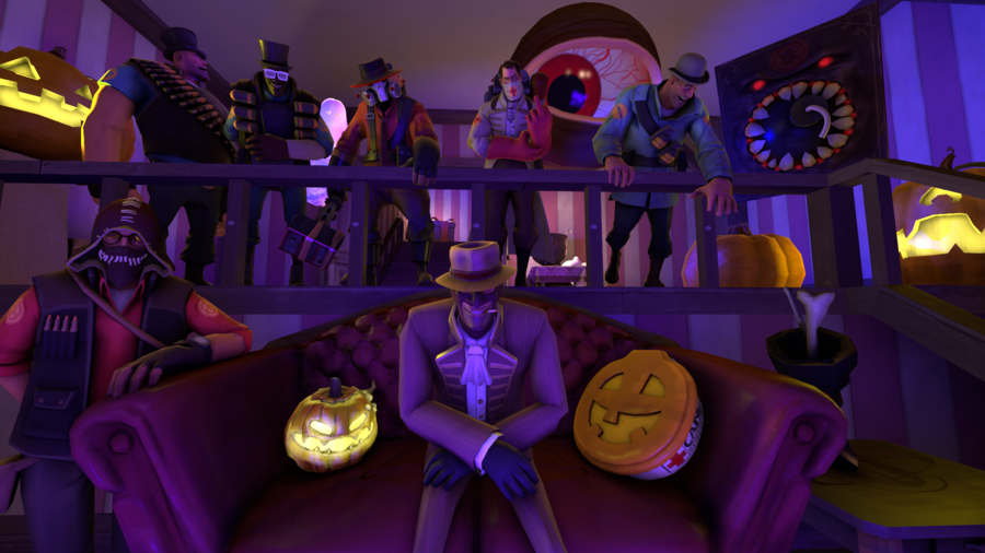 Steam Community :: :: TF2 Halloween Wallpaper #2