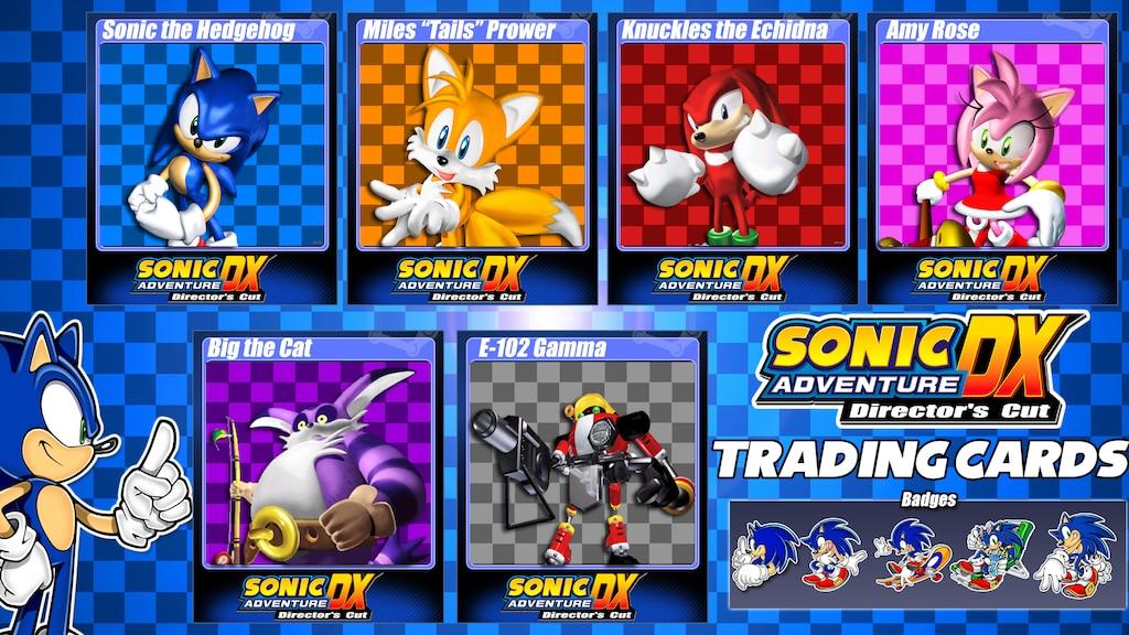 Steam Community :: :: Sonic Adventure DX - Steam Trading Cards