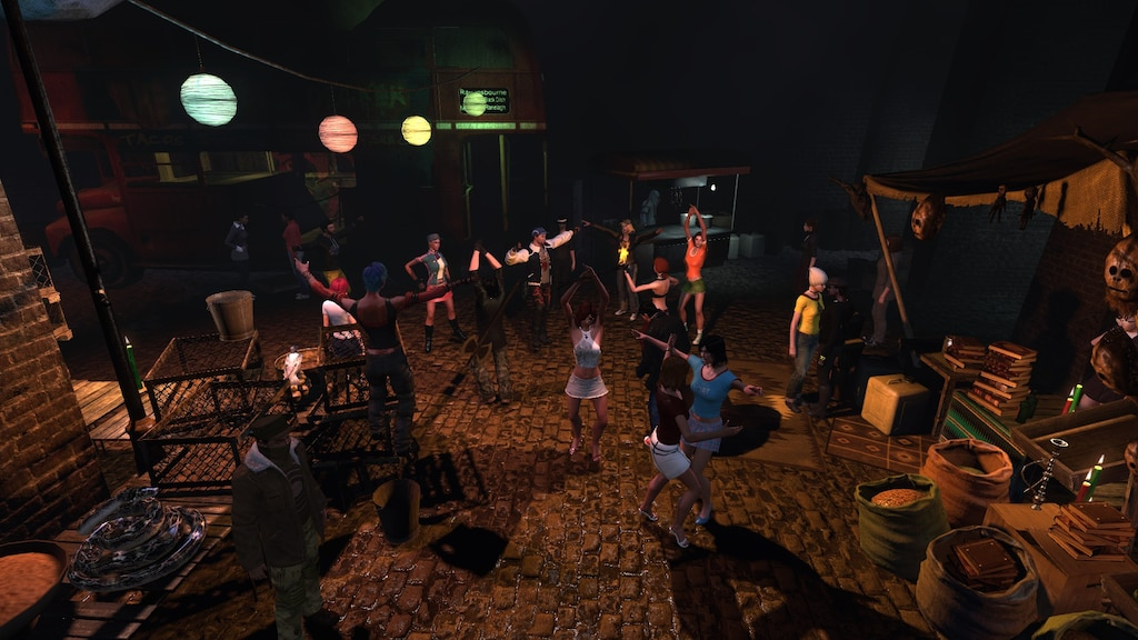 Steam Community :: Screenshot :: Chilling out dancing to DJ