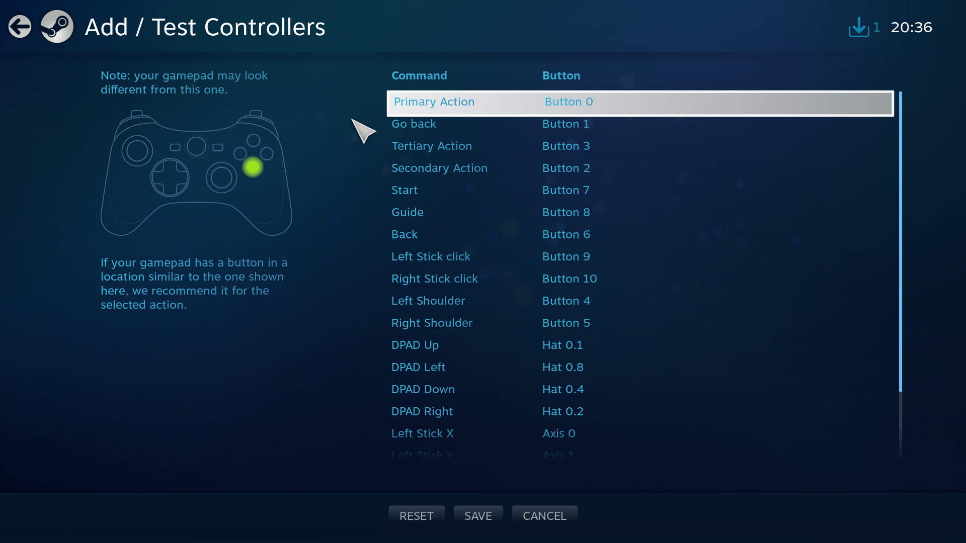 Steam Community :: :: Xbox One Controller SDL2 variable