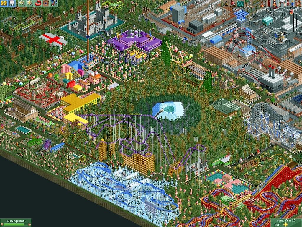 Steam Community :: Screenshot :: World Of Wonder RCT2 Park