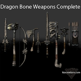 Steam Workshop Dragon Bone Weapons Complete