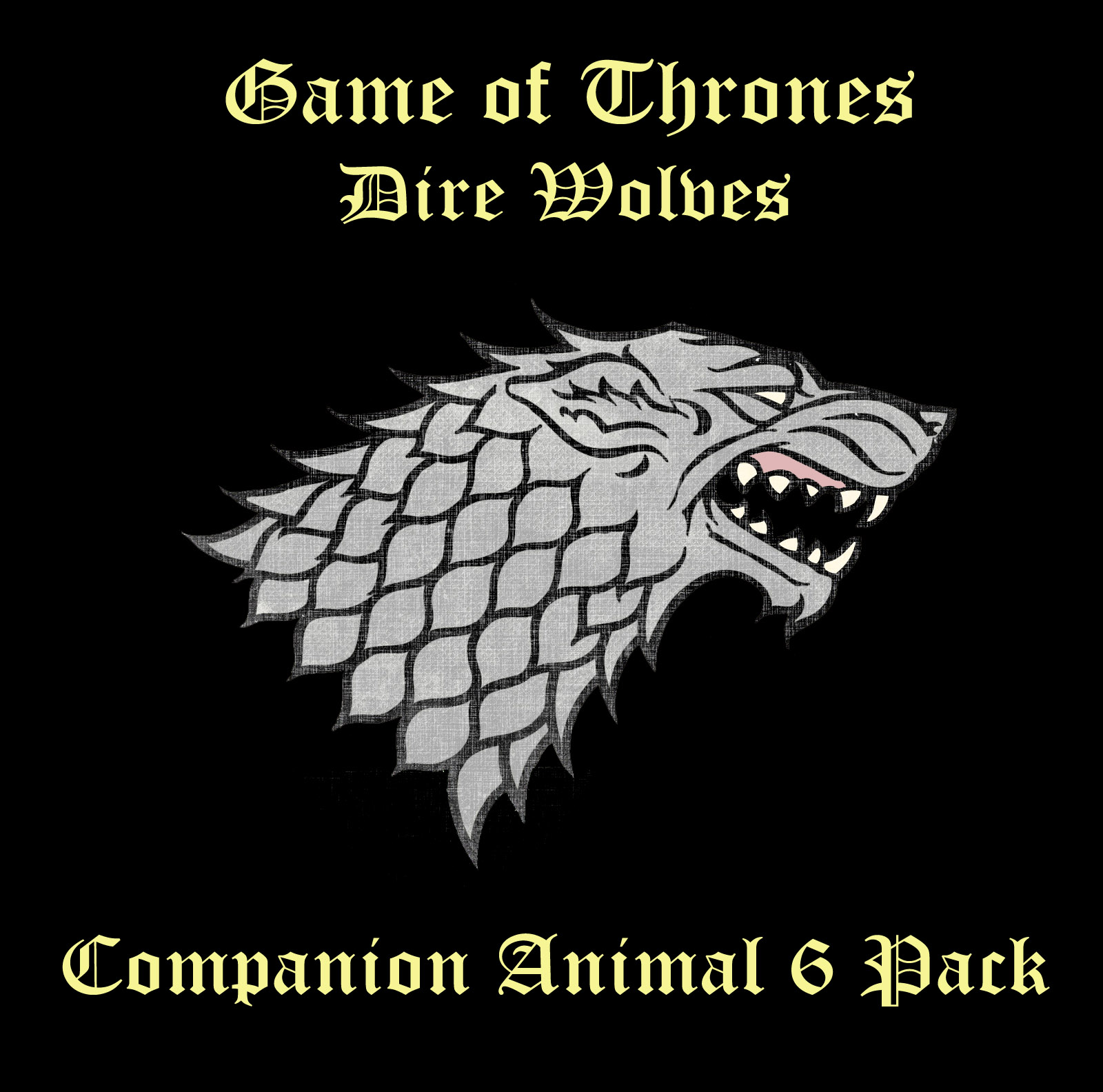 Steam Workshop :: Game of Thrones- Dire Wolf Companions