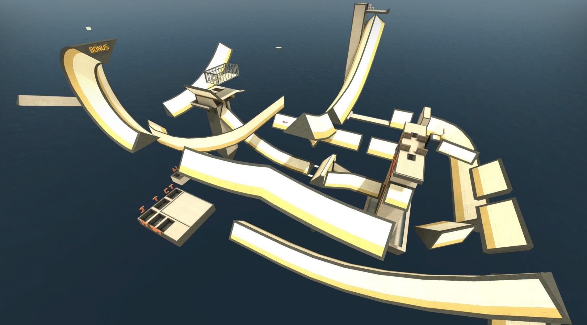 Секреты карты surf ski2 cs 1. 6 познавательные и прикольные.