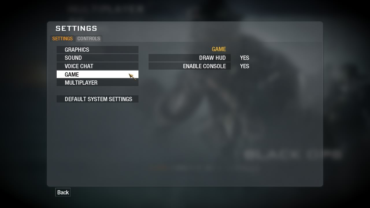 To Begin, Start Black Ops Multiplayer Once Your In The Main Menu, Go To  Settings And Then Game And Enable Console