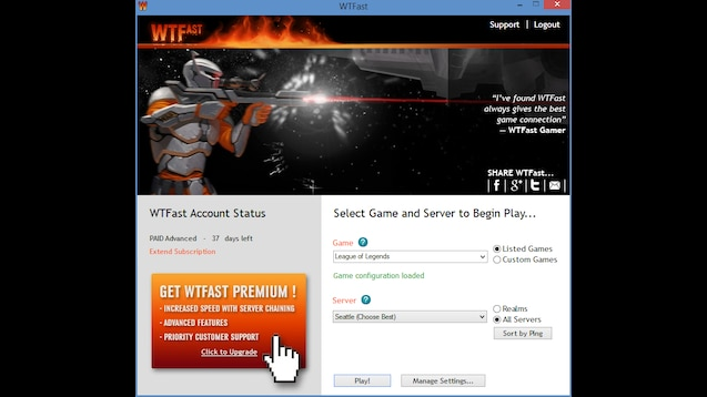 Steam Greenlight :: WTFast Gamers Private Network (GPN)