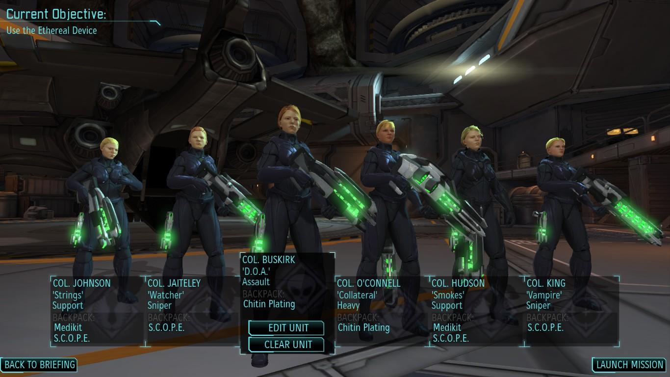 Steam Community Screenshot Heres My Team In XCOM All Female All Psi Abilities Maxed