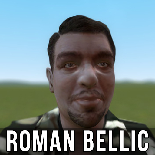 Roman bellic big american titties