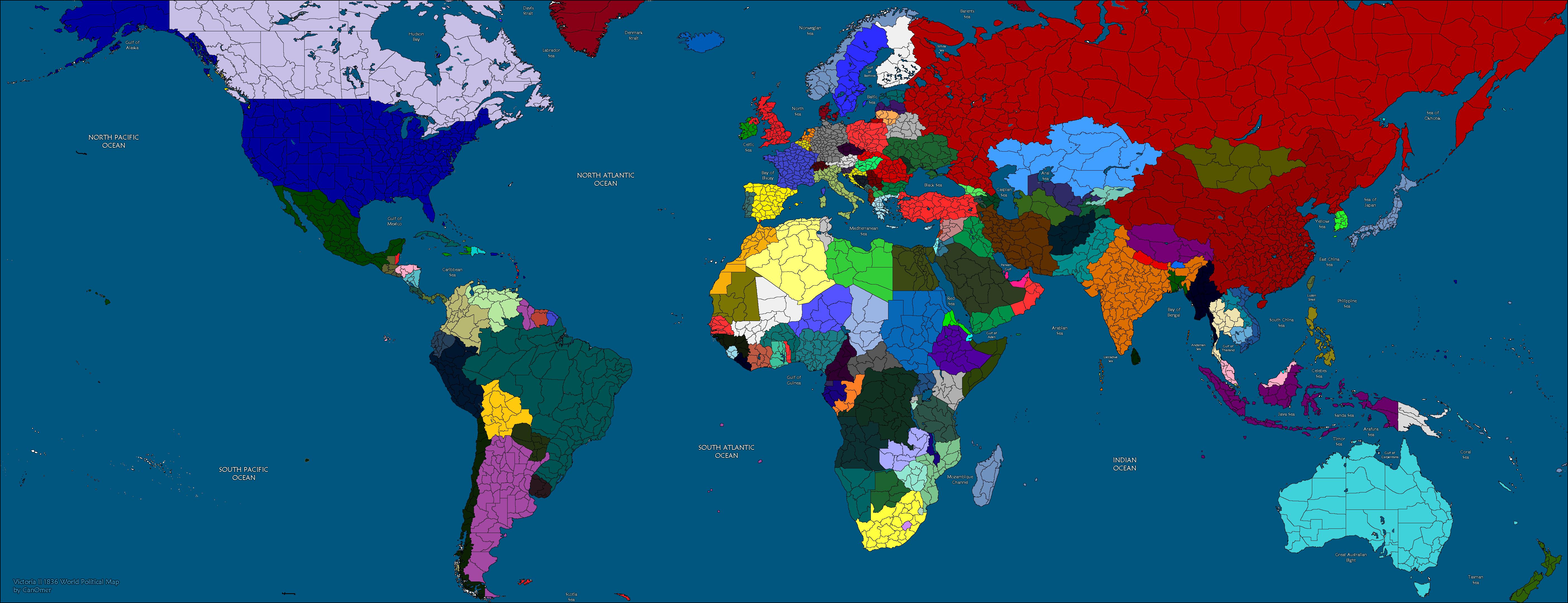 Steam Community Map Of The Modern World In Victoria - Modern world map