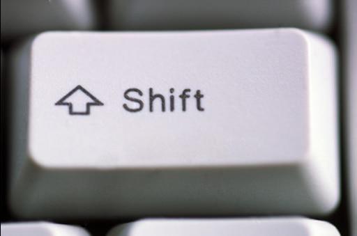 Картинка кнопки шифт