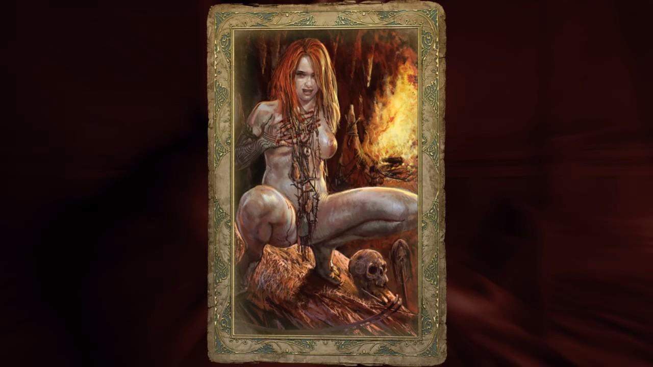 Nude hot gothic women