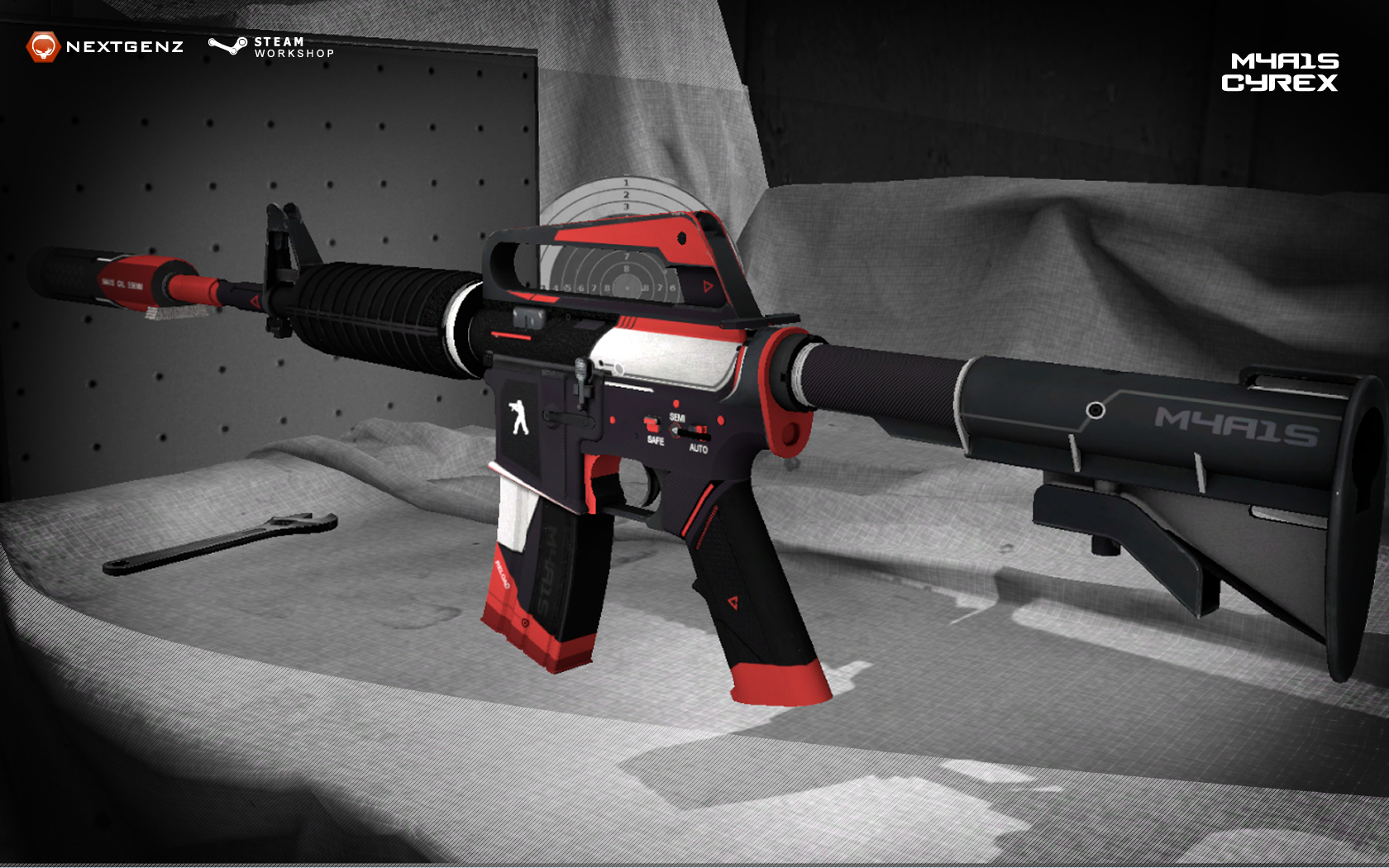 Steam Workshop M4a1s Cyrex