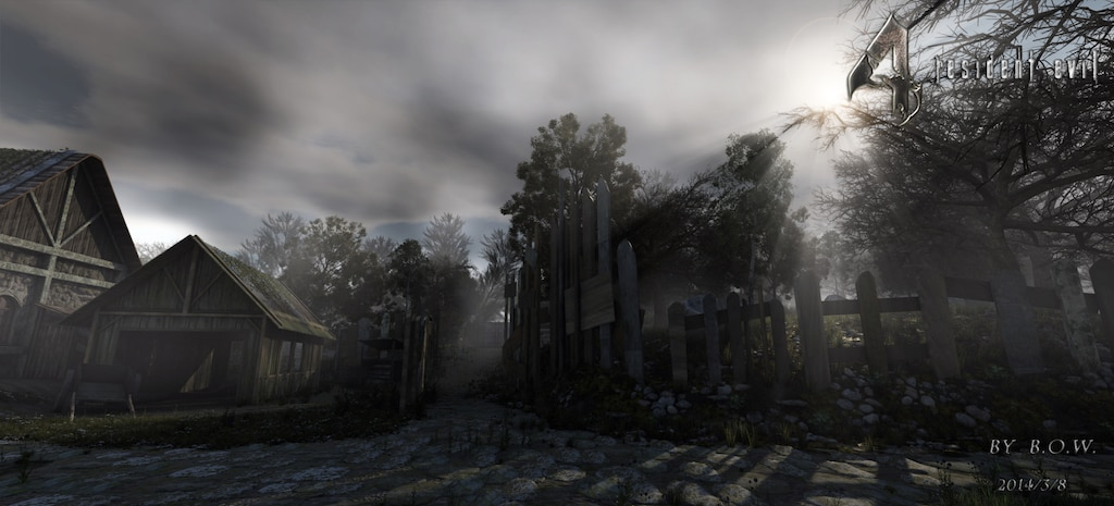 Steam Community Resident Evil 4 Remake Scene Village