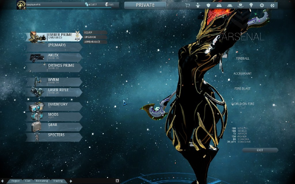 how to get ember prime