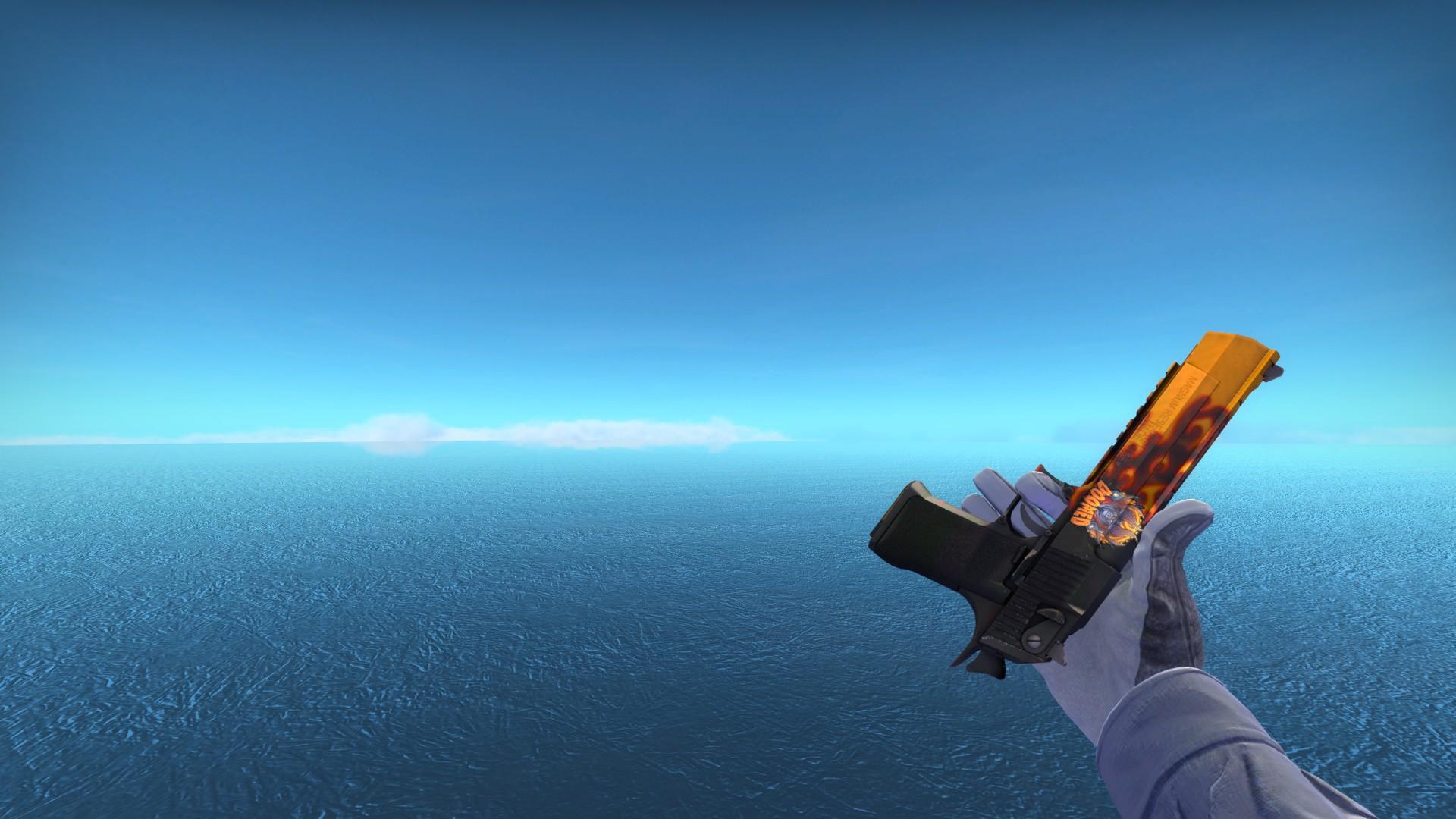 Steam community screenshot desert eagle blaze with doomed sticker foil