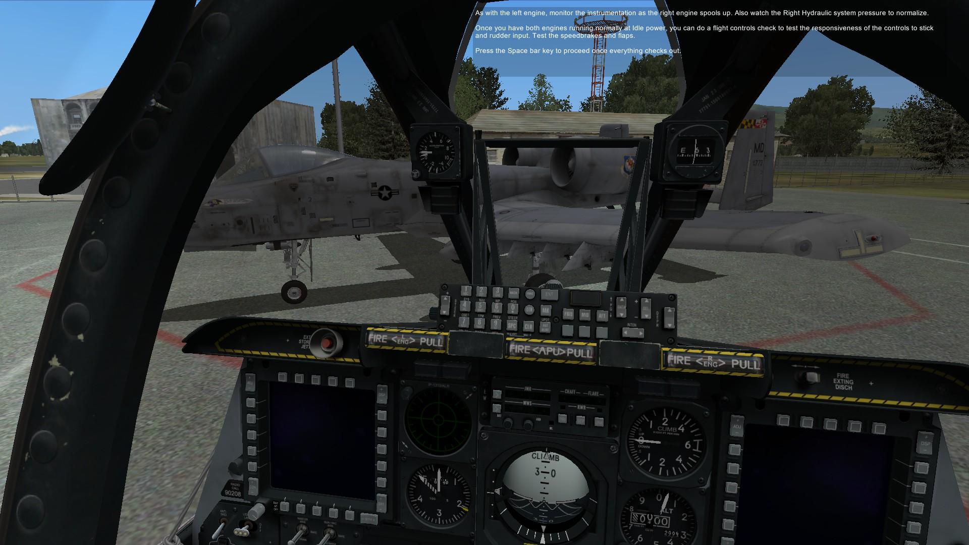 A10c warthog controls