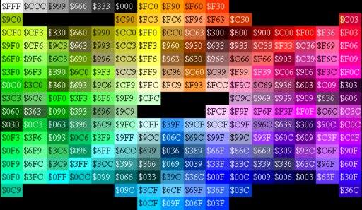 Картинки цветных ников