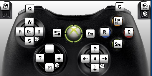 how to press play on xbox 360 without controller
