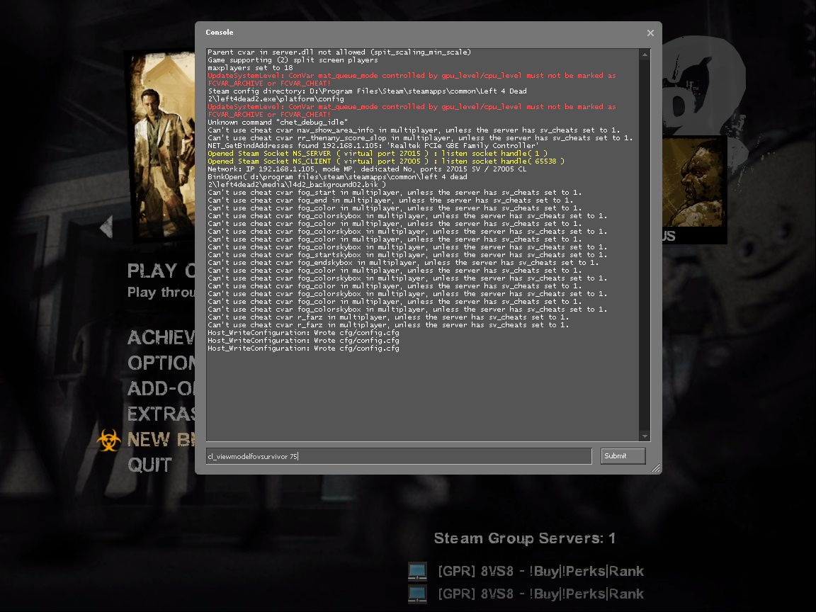 Steam Community :: Guide :: How to Change Viewmodel Field of View in