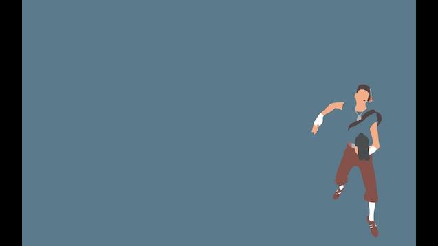 Steam Workshop Minimalist Wallpaper Team Fortress 2 Blue Team