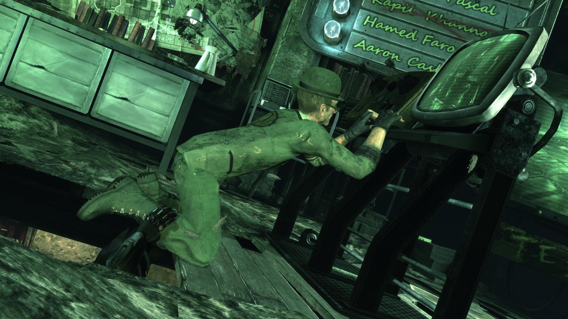 Batman arkham city how to get riddler hostage 3