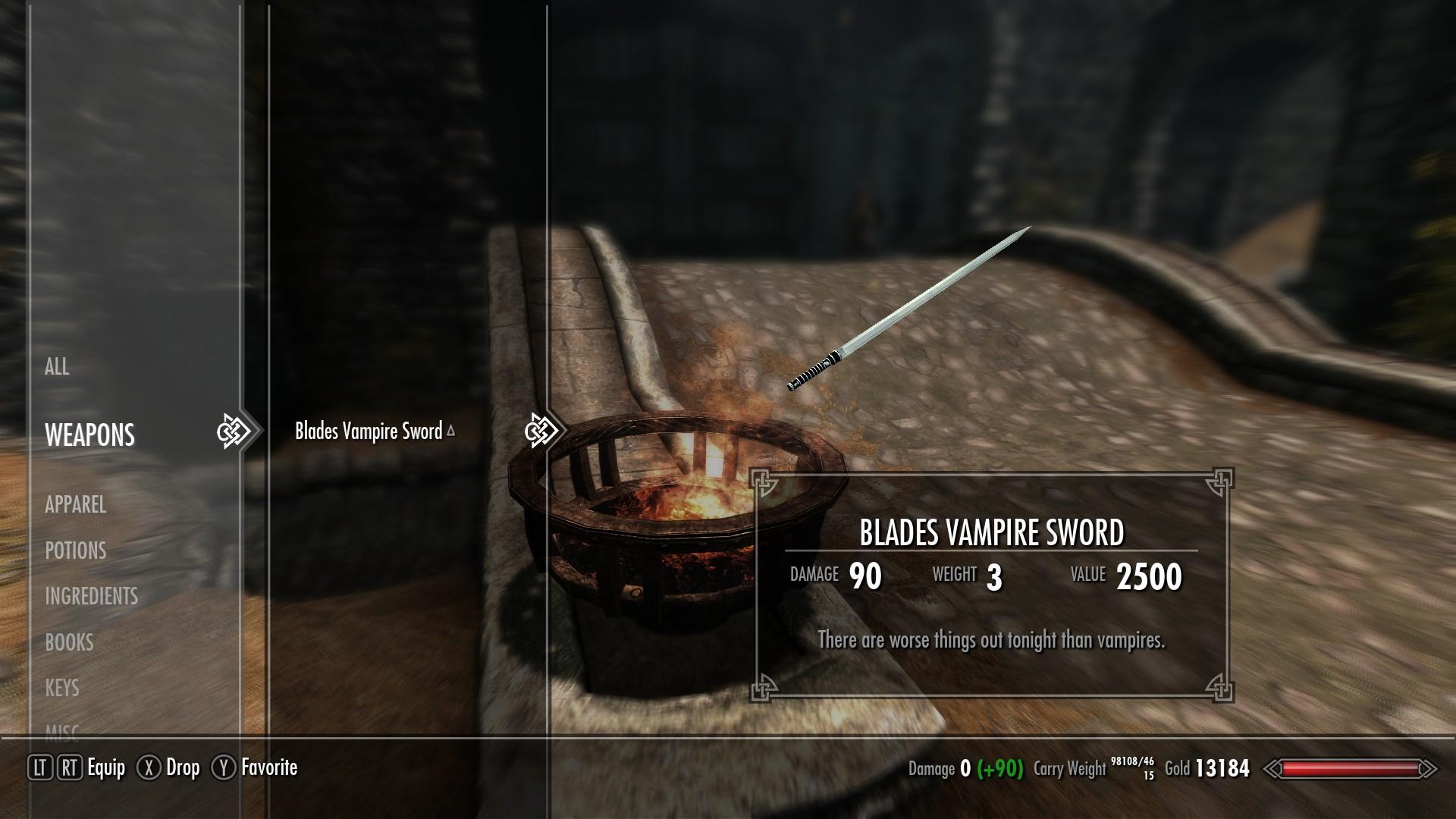 Steam Workshop :: Blade's Vampire Sword