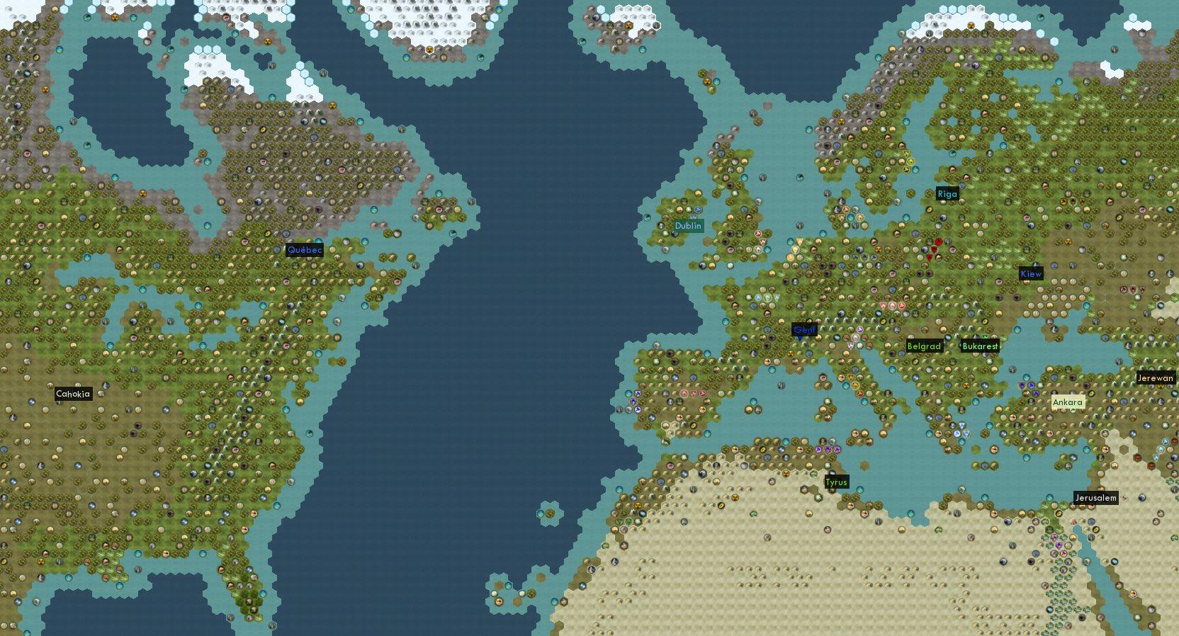 Europe Map Civ 5 | Papegaaienparadijs