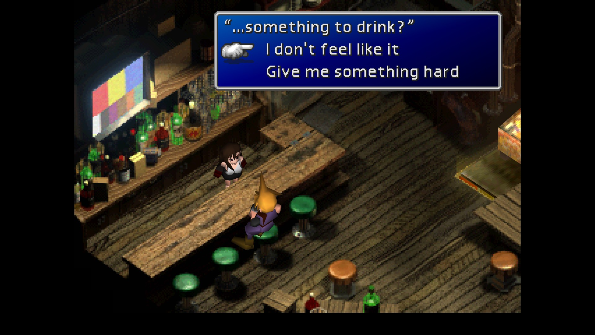 Dating mechanics ff7