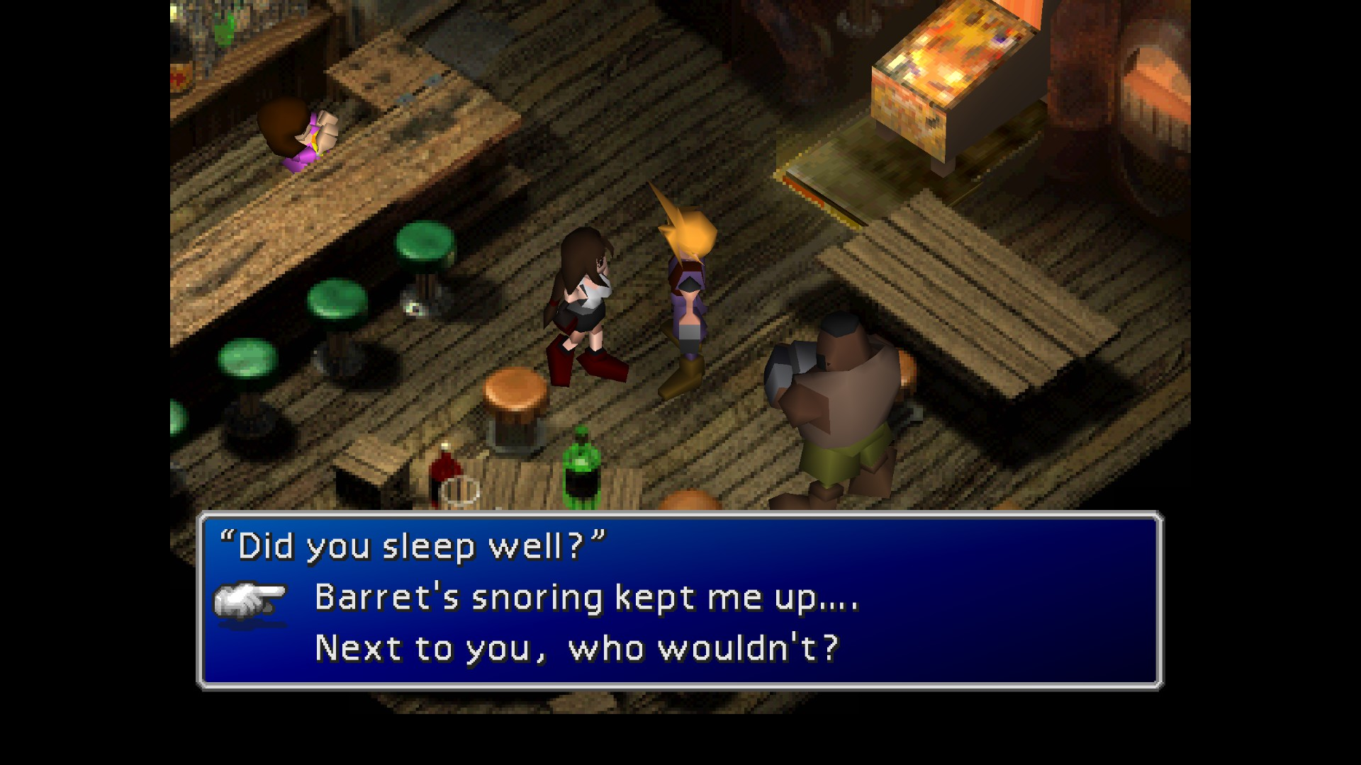 ff7 dating Yuffie