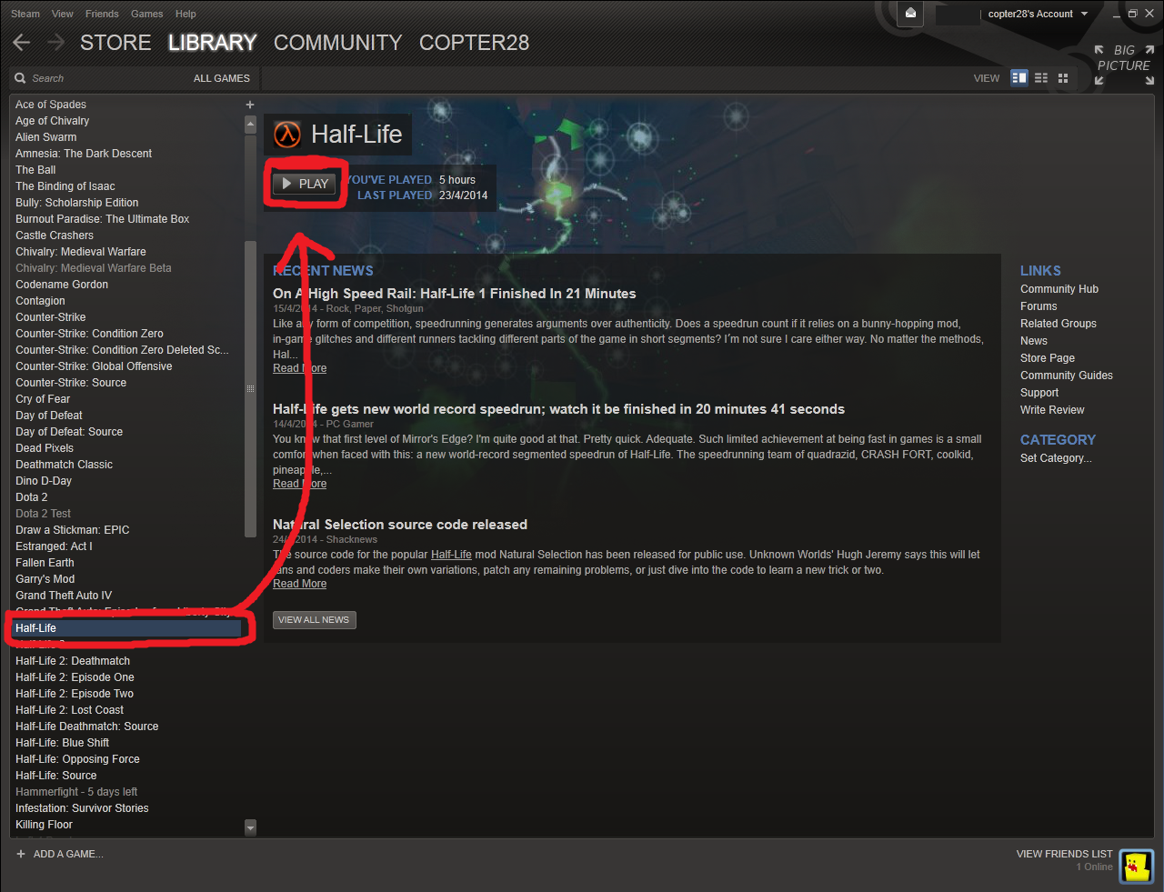 Steam Community :: Guide :: How to play Half-Life