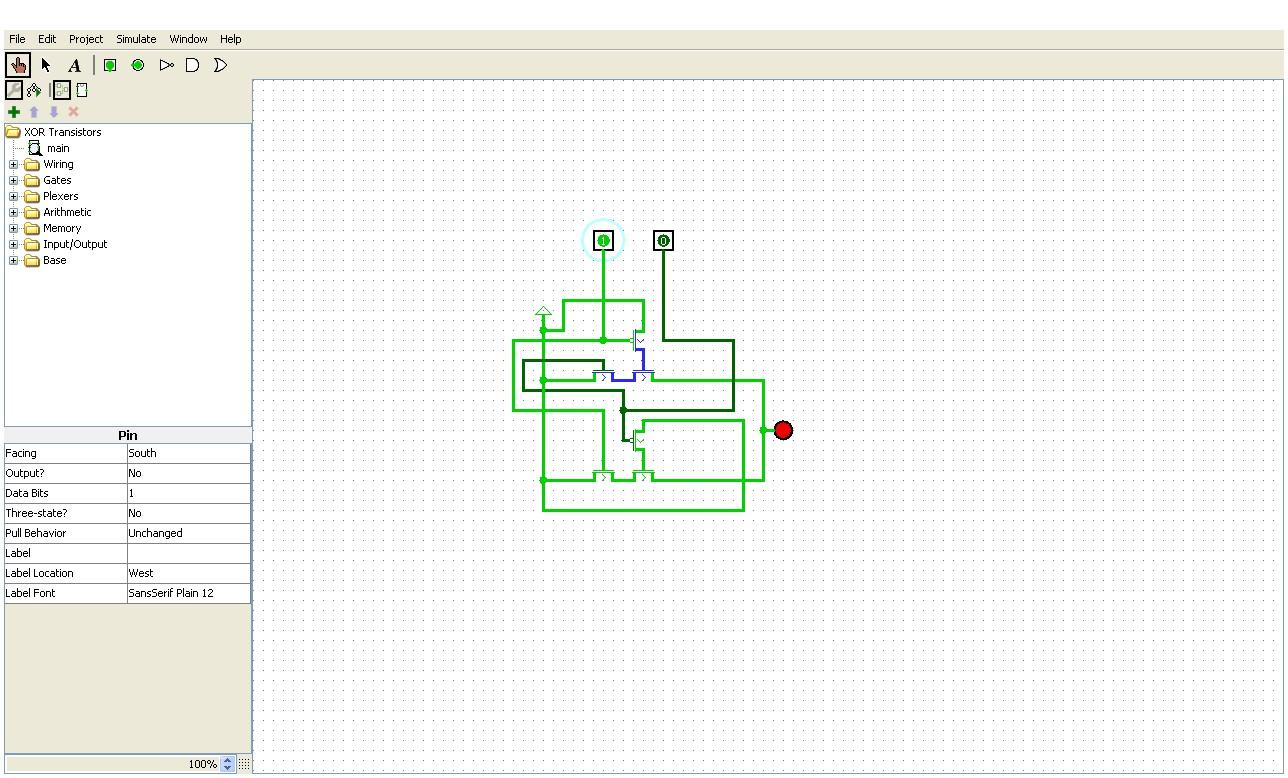Steam Community Screenshot Logisim Transistor Xor Gate At 1 0 Logic Diagram Of Simulator 271