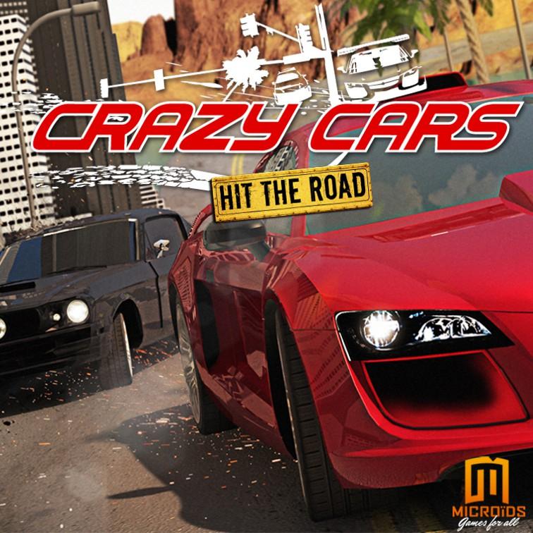 Descargar Crazy Cars Hit The Road Full ESPANOL   BlizzBoyGames