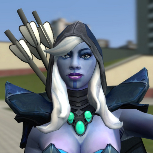 Steam Workshop Dota 2 Drow Ranger Traxex