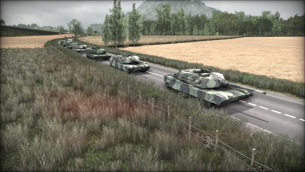 Steam Community :: Screenshot :: A convoy of American M1A1 Abram ...